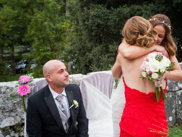 La boda de Óscar y Jessica en Llodio, Álava 27