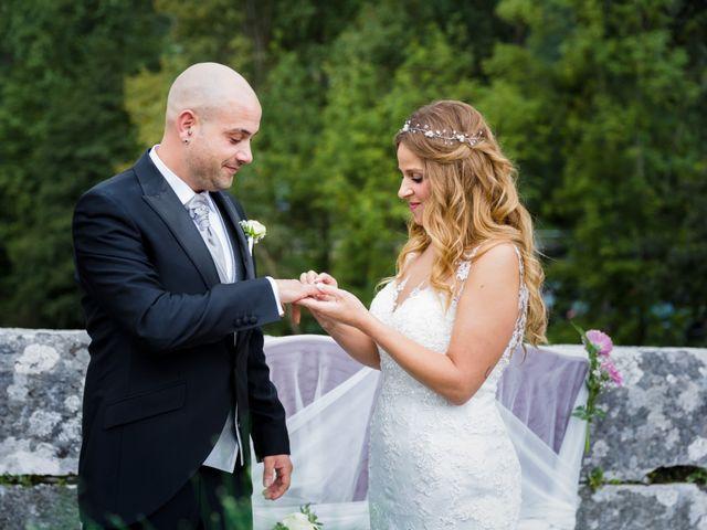La boda de Óscar y Jessica en Llodio, Álava 34