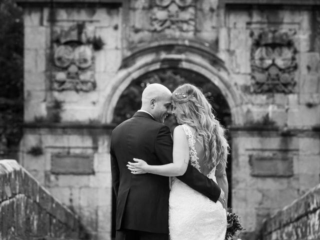 La boda de Óscar y Jessica en Llodio, Álava 42