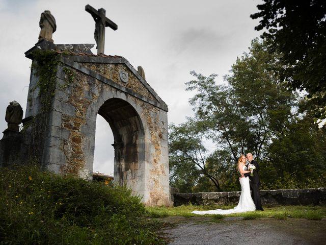 La boda de Óscar y Jessica en Llodio, Álava 43