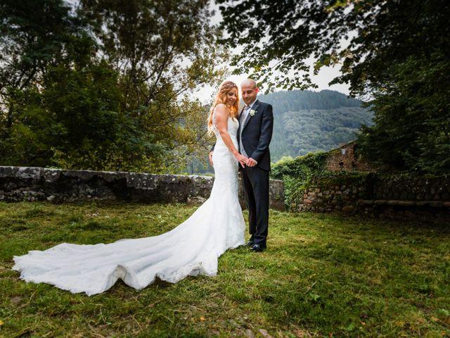La boda de Óscar y Jessica en Llodio, Álava 45