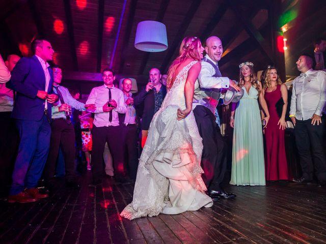 La boda de Óscar y Jessica en Llodio, Álava 61