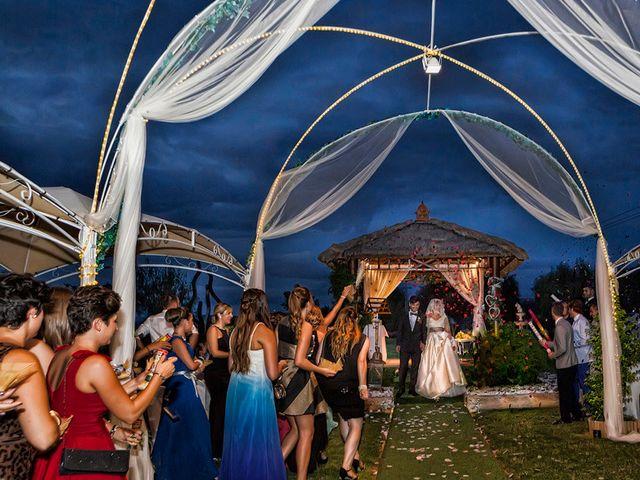 La boda de Michel y Estefania en L' Ènova, Valencia 5