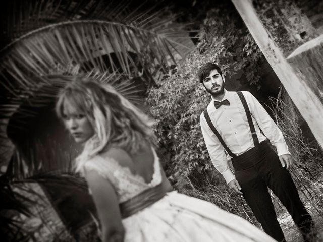 La boda de Michel y Estefania en L' Ènova, Valencia 16