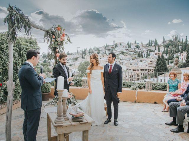 La boda de Pablo y Marta en Granada, Granada 33