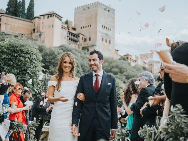 La boda de Pablo y Marta en Granada, Granada 36