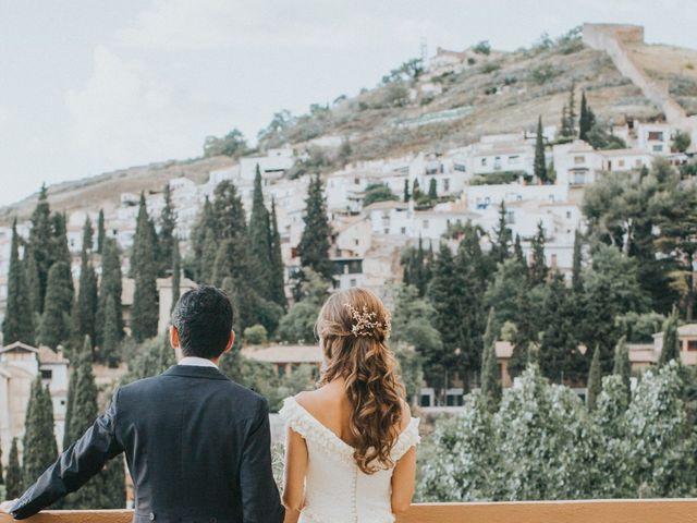 La boda de Pablo y Marta en Granada, Granada 41