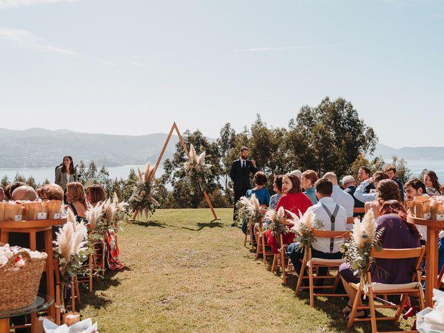La boda de Paúl y Lorena en Raxó (Poio), Pontevedra 54
