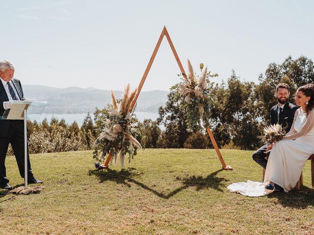 La boda de Paúl y Lorena en Raxó (Poio), Pontevedra 70