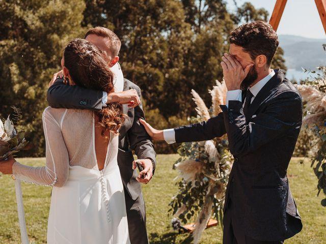 La boda de Paúl y Lorena en Raxó (Poio), Pontevedra 78