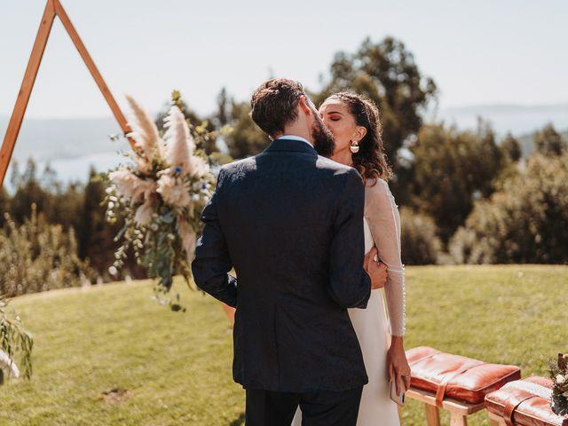 La boda de Paúl y Lorena en Raxó (Poio), Pontevedra 82