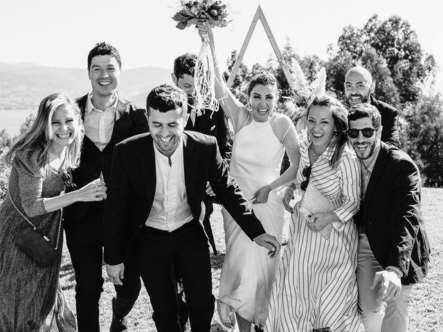 La boda de Paúl y Lorena en Raxó (Poio), Pontevedra 115
