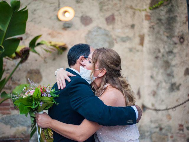La boda de Georgina y Pep en Vilanova Del Valles, Barcelona 17