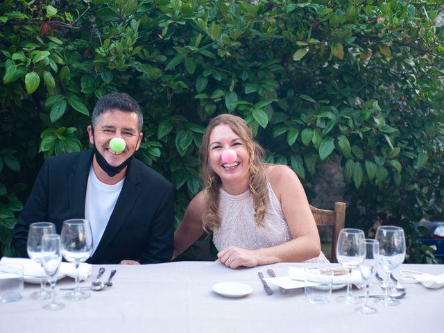 La boda de Georgina y Pep en Vilanova Del Valles, Barcelona 1