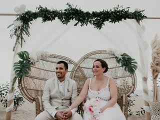 La boda de Flor y Ema
