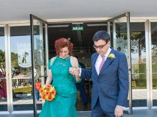 La boda de Angeles  y Fer 2