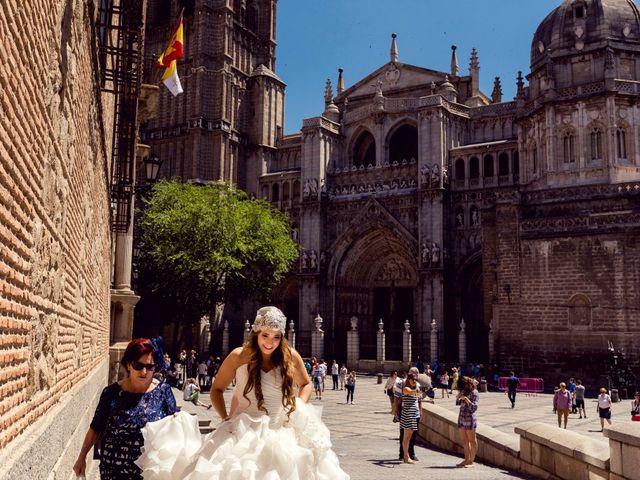 La boda de Sergio y Pilar en Toledo, Toledo 20