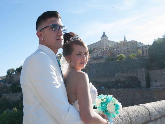 La boda de Carlos y Maria en Toledo, Toledo 29