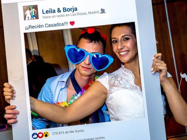 La boda de Borja y Leila en Las Rozas De Madrid, Madrid 59
