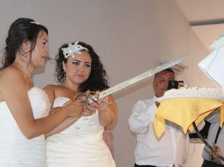 La boda de Victoria  y Estela 3