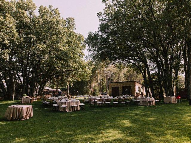 La boda de Dani y Barbara en Rascafria, Madrid 10