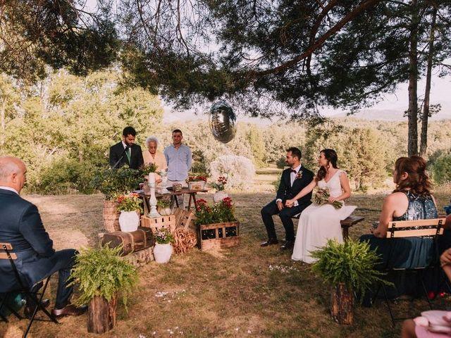 La boda de Dani y Barbara en Rascafria, Madrid 26