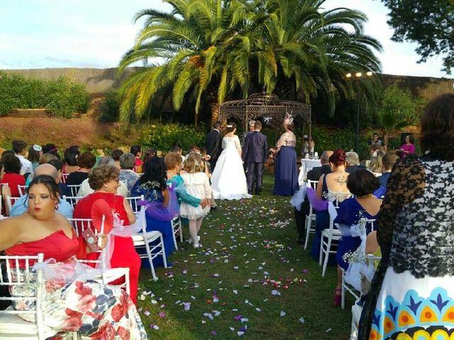 La boda de Ángel  y Isa en Mérida, Badajoz 1
