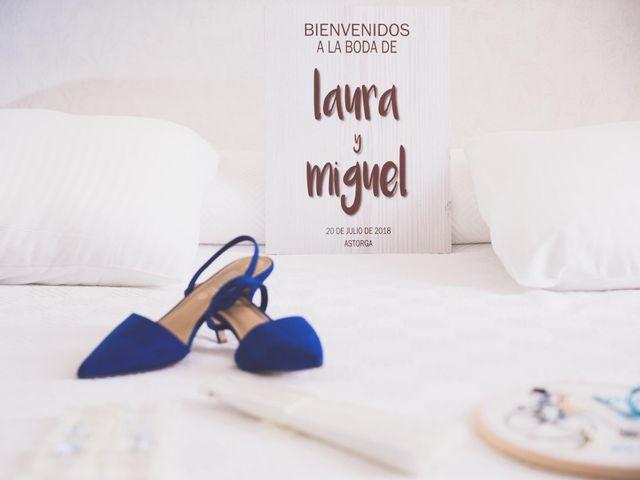 La boda de Miguel y Laura en Astorga, León 8