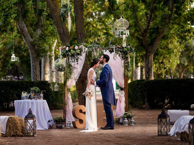 La boda de Bea y Santi en Toledo, Toledo 40