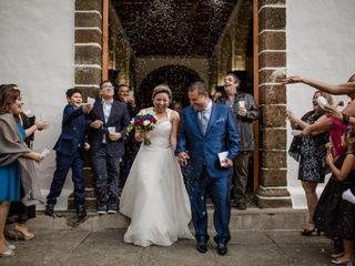 La boda de Daniela  y Agmer