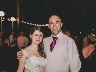 La boda de Cristina Onrubia y Gonzalo Navarro