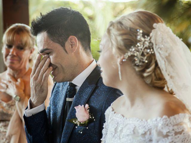 La boda de Cristian y María en Torrejon De La Calzada, Madrid 23