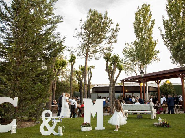 La boda de Cristian y María en Torrejon De La Calzada, Madrid 41