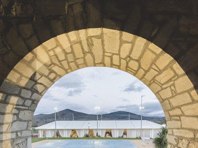 La boda de David y Marta en San Andres De Montejos, León 11