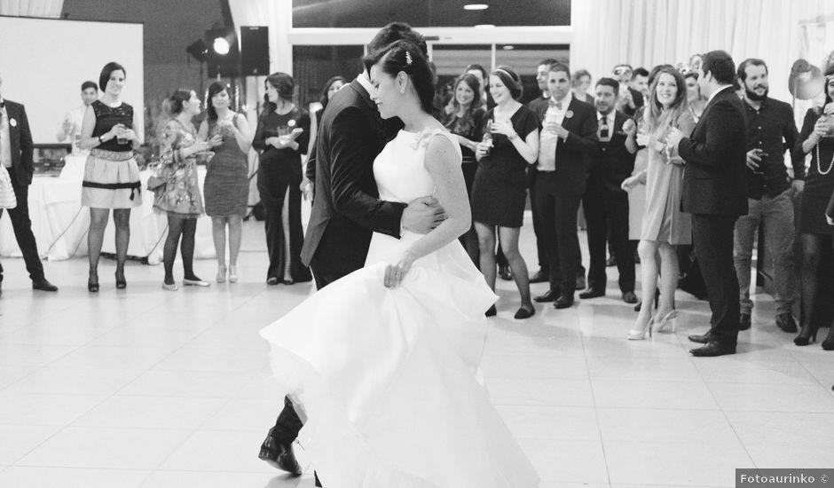 La boda de David y Marta en San Andres De Montejos, León