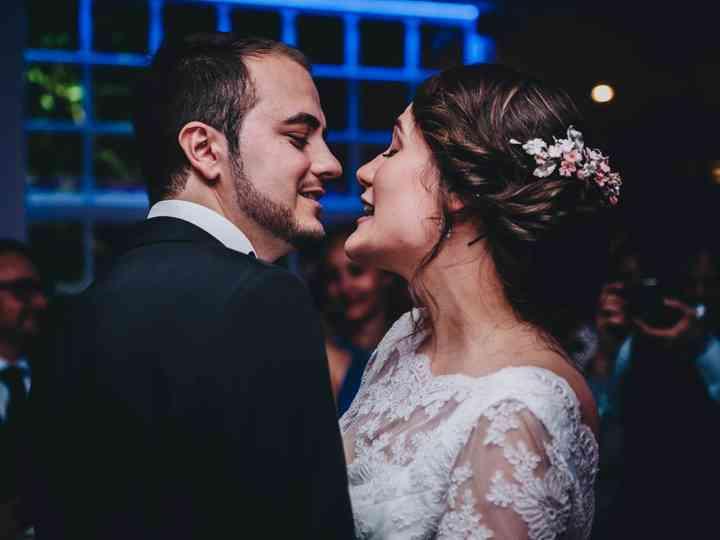 La boda de Nazaret y Daniel
