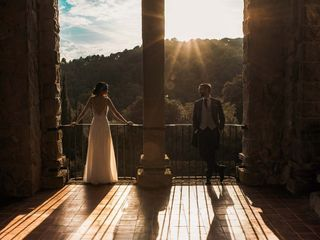 La boda de Anne y Marco