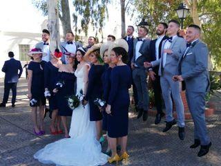 La boda de Estefanía y David