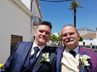 La boda de Frank y Lopez