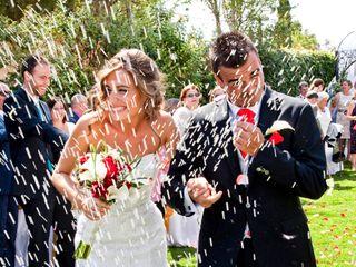 La boda de Lourdes y Fran