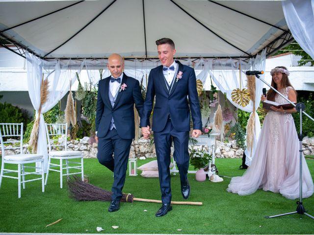 La boda de Alberto y Rubén en El Bruc, Barcelona 28