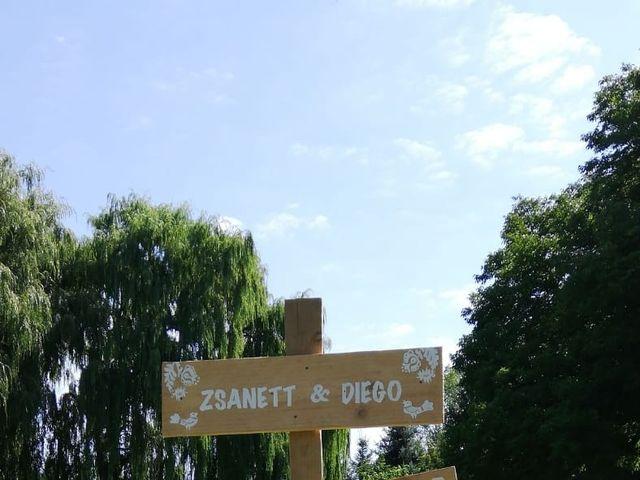 La boda de Diego y Zsanett en Palencia, Palencia 3