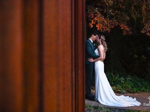 La boda de Zsanett y Diego