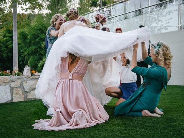 La boda de Ricardo y Alejandra en Robledo De Chavela, Madrid 35
