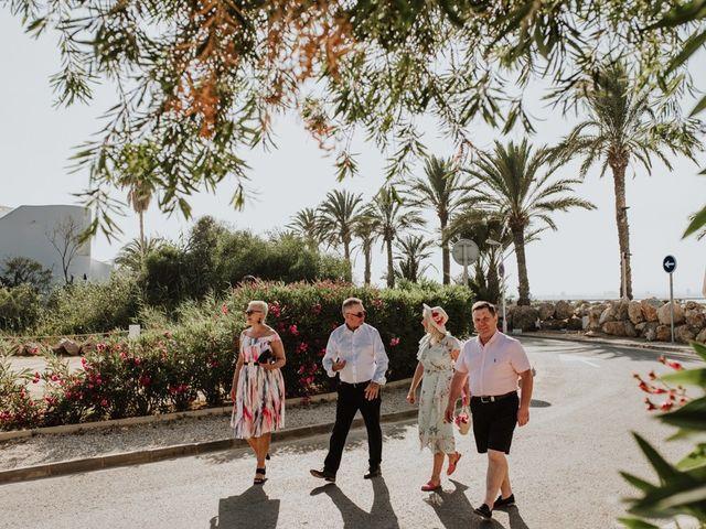 La boda de Bahry y Hayley en La Manga Del Mar Menor, Murcia 6
