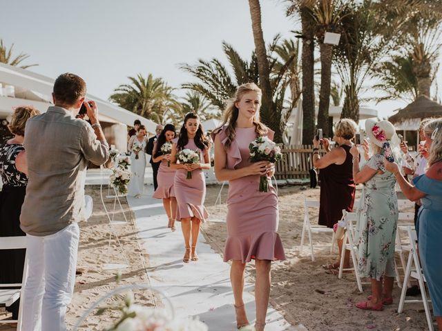 La boda de Bahry y Hayley en La Manga Del Mar Menor, Murcia 10