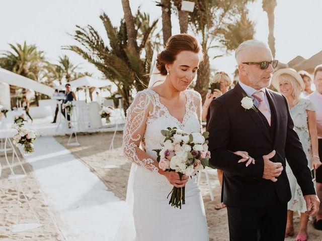 La boda de Bahry y Hayley en La Manga Del Mar Menor, Murcia 11