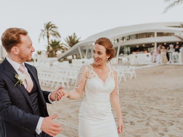 La boda de Bahry y Hayley en La Manga Del Mar Menor, Murcia 16