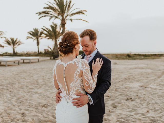 La boda de Bahry y Hayley en La Manga Del Mar Menor, Murcia 1