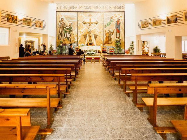 La boda de Carlos y Julia en Santiago De La Ribera, Murcia 29